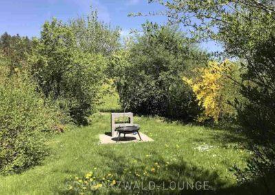 Ferienhaus Brestenberg: Der Grill im Garten