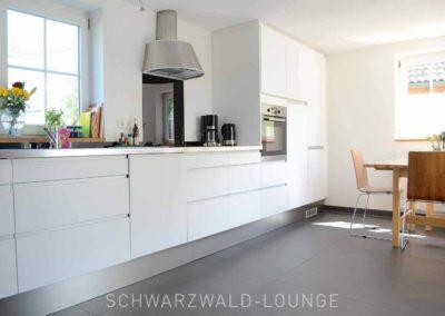 Chalet Lindenbuch: Die moderne Küche mit Essbereich