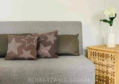 Chalet Lindenbuch: Die Schlafcouch in Schlafzimmer 2