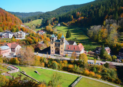 Wanderung Kloesterleschleife in Bad Rippoldsau Kirche